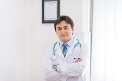 ιατρικό πορτρέτο γιατρών γραφείων Στοκ Εικόνες