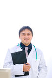 ιατρικό πορτρέτο γιατρών περιοχών αποκομμάτων Στοκ φωτογραφίες με δικαίωμα ελεύθερης χρήσης