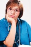 ιατρικό πορτρέτο γιατρών Στοκ Εικόνες