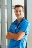 Ιατρικό πορτρέτο εργαζομένων Στοκ φωτογραφία με δικαίωμα ελεύθερης χρήσης