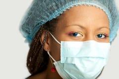 ιατρικό πορτρέτο νοσοκόμω Στοκ εικόνες με δικαίωμα ελεύθερης χρήσης