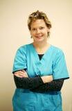 ιατρικό πρόσωπο Στοκ εικόνα με δικαίωμα ελεύθερης χρήσης