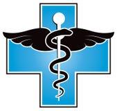 Ιατρικό σύμβολο Στοκ Φωτογραφία