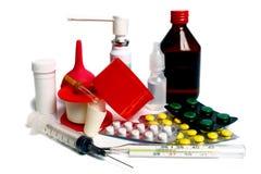 ιατρικό σύνολο Στοκ εικόνες με δικαίωμα ελεύθερης χρήσης