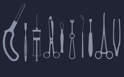 Ιατρικό σύνολο εργαλείων απεικόνιση αποθεμάτων