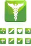 ιατρικό τετράγωνο εικον&iot ελεύθερη απεικόνιση δικαιώματος
