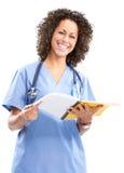ιατρικό χαμόγελο νοσοκόμ Στοκ εικόνα με δικαίωμα ελεύθερης χρήσης