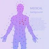 ιατρικό optometrist ματιών διαγραμμάτων ανασκόπησης Ανθρώπινη ανατομία Στοκ Εικόνες