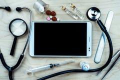 ιατρικό optometrist ματιών διαγραμμάτων ανασκόπησης Στοκ Εικόνα