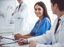 Ιατροί στη διάσκεψη Στοκ Εικόνα