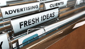 Διαφημιστική επιχείρηση ή αντιπροσωπεία Στοκ Εικόνες