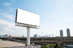 διαφημιστικό κενό πινάκων διαφημίσεων Στοκ Φωτογραφίες