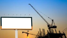 διαφημιστικό κενό πινάκων δ Στοκ φωτογραφία με δικαίωμα ελεύθερης χρήσης