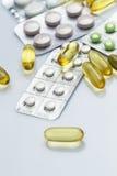 διαφορετικά χάπια Στοκ φωτογραφία με δικαίωμα ελεύθερης χρήσης