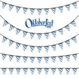 διαφορετικές γιρλάντες Oktoberfest Στοκ φωτογραφία με δικαίωμα ελεύθερης χρήσης