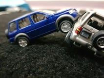 διαφορετικές μικροσκοπικές θέσεις αυτοκινήτων Στοκ Εικόνα