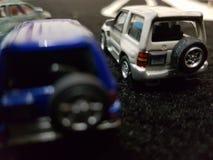 διαφορετικές μικροσκοπικές θέσεις αυτοκινήτων Στοκ φωτογραφία με δικαίωμα ελεύθερης χρήσης