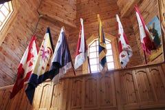 διαφορετικές σημαίες χωρών Στοκ Εικόνα