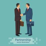 διαφορετικός γρίφος δύο κομματιών συνεργασίας χεριών έννοιας business businessman cmputer desk laptop meeting smiling talking to  Στοκ Φωτογραφίες