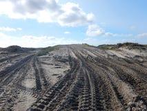 διαδρομές άμμου Στοκ Φωτογραφία