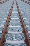 διαδρομές σιδηροδρόμων Στοκ Φωτογραφίες
