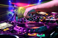 διαδρομή παιχνιδιού του DJ Στοκ φωτογραφία με δικαίωμα ελεύθερης χρήσης