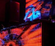 διαδρομή παιχνιδιού του DJ Στοκ εικόνες με δικαίωμα ελεύθερης χρήσης