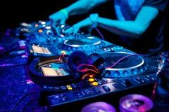 διαδρομή παιχνιδιού του DJ Στοκ Φωτογραφία