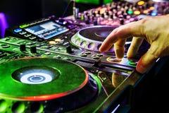 διαδρομή παιχνιδιού του DJ Στοκ Φωτογραφίες