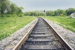 Διαδρομή σιδηροδρόμου Στοκ Εικόνες