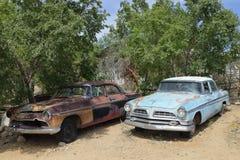 Διαδρομή 66, Hackberry, AZ, ΗΠΑ, αυτοκίνητα παλαιός-χρονομέτρων Στοκ φωτογραφία με δικαίωμα ελεύθερης χρήσης