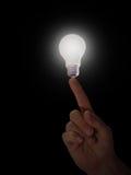 ιδέα άκρων δακτύλου Στοκ φωτογραφίες με δικαίωμα ελεύθερης χρήσης