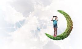 Ιδέα της επικοινωνίας Διαδικτύου παιδιών ή on-line του παιχνιδιού και του PA Στοκ εικόνα με δικαίωμα ελεύθερης χρήσης