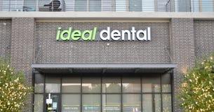 Ιδανικός οδοντικός, εμπρός αξίας, Τέξας στοκ φωτογραφία