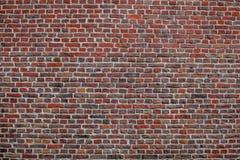 Ιδανικός τοίχος με τα κόκκινα τούβλα στο Μπρυζ, στοκ εικόνες