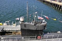 Ιδιαίτερος ενός αμερικανικού υποβρυχίου στοκ εικόνες με δικαίωμα ελεύθερης χρήσης