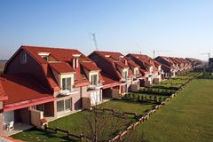 ιδιοκτήτες σπιτιών η αναμ&omi στοκ φωτογραφία με δικαίωμα ελεύθερης χρήσης