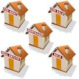 ιδιοκτησία κτημάτων πραγμ&al διανυσματική απεικόνιση