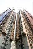 Ιδιωτικές κατοικίες Χονγκ Κονγκ Πολυκατοικίες στο Χονγκ Κονγκ, Κίνα στοκ φωτογραφίες με δικαίωμα ελεύθερης χρήσης