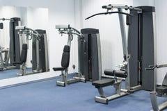 Ιδιωτική γυμναστική στο εφεδρικό δωμάτιο Στοκ Φωτογραφίες