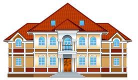 ιδιωτική κατοικία ελεύθερη απεικόνιση δικαιώματος
