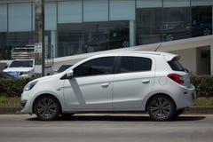Ιδιωτικός αντικατοπτρισμός της Mitsubishi αυτοκινήτων Eco Στοκ φωτογραφία με δικαίωμα ελεύθερης χρήσης
