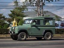 Ιδιωτικό αυτοκίνητο Μίνι φορτηγό του Land Rover Στοκ Εικόνες