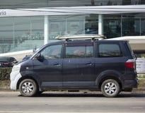 Ιδιωτικό αυτοκίνητο, μίνι φορτηγό Suzuki APV Στοκ φωτογραφία με δικαίωμα ελεύθερης χρήσης