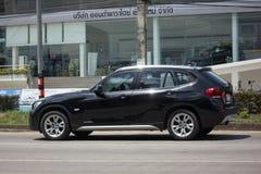 Ιδιωτικό αυτοκίνητο BMW X1 Στοκ φωτογραφίες με δικαίωμα ελεύθερης χρήσης