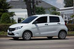 Ιδιωτικό αυτοκίνητο Eco, Suzuki Celerio Στοκ φωτογραφία με δικαίωμα ελεύθερης χρήσης