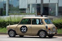 Ιδιωτικό παλαιό αυτοκίνητο, μίνι βαρελοποιός Στοκ Εικόνες