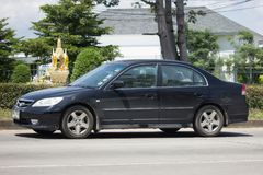 Ιδιωτικό παλαιό αυτοκίνητο Honda Civic Στοκ εικόνα με δικαίωμα ελεύθερης χρήσης