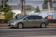 Ιδιωτικό παλαιό αυτοκίνητο Honda Civic στοκ φωτογραφίες με δικαίωμα ελεύθερης χρήσης