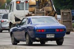 Ιδιωτικό παλαιό αυτοκίνητο, Toyota Celica TA 22 Coupe ο ΥΠΟΛΟΧΑΓΌΣ 1600 Στοκ φωτογραφία με δικαίωμα ελεύθερης χρήσης